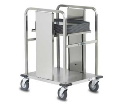 """Dinex DXIDT1S1520 Open Mobile Tray Dispenser w/ 150 Tray Capacity, 15 x 20"""""""