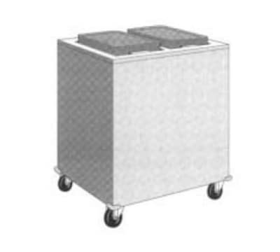 """Dinex DXIDT2E1520 Enclosed Mobile Tray Dispenser w/ 300 Tray Capacity, 15 x 20"""""""