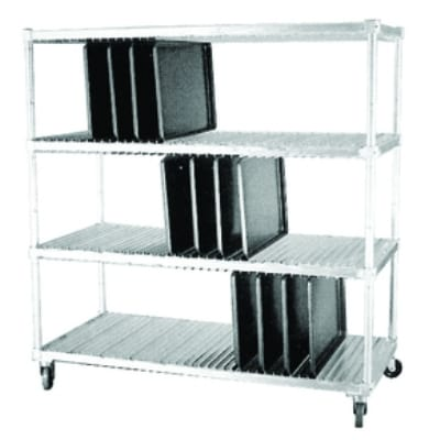 Dinex DXIDTDR3 3 Level Mobile Drying Rack for Trays