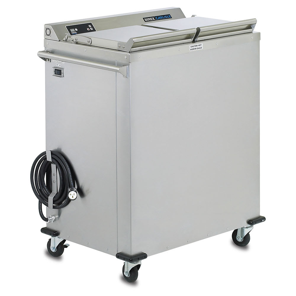 Dinex DXIDWB30900 Heated Base Dispenser w/ Individual Settings, 3 Silo, Stainless
