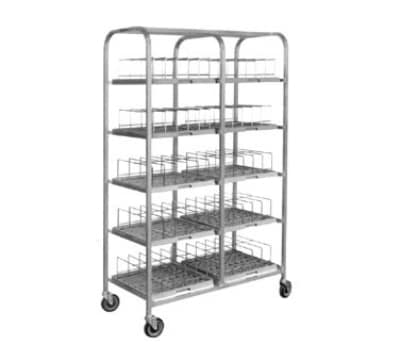 Dinex DXIRDSD7120 5-Level Mobile Drying Rack for Dishes