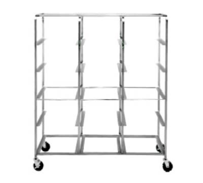 Dinex DXIRDSD9150 5 Level Mobile Drying Rack for Dishes