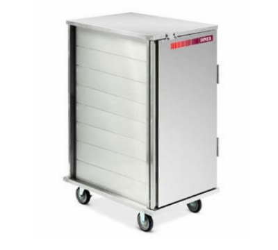 Dinex DXMOC20RC 18-Tray Cabinet Room Service Cart, Aluminum