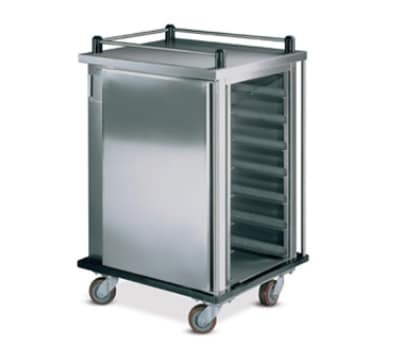 Dinex DXPSCPT10 10 Tray Ambient Meal Delivery Cart