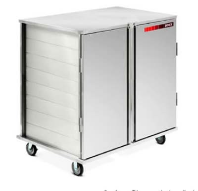 Dinex DXPSCPT322D 32 Tray Ambient Meal Delivery Cart