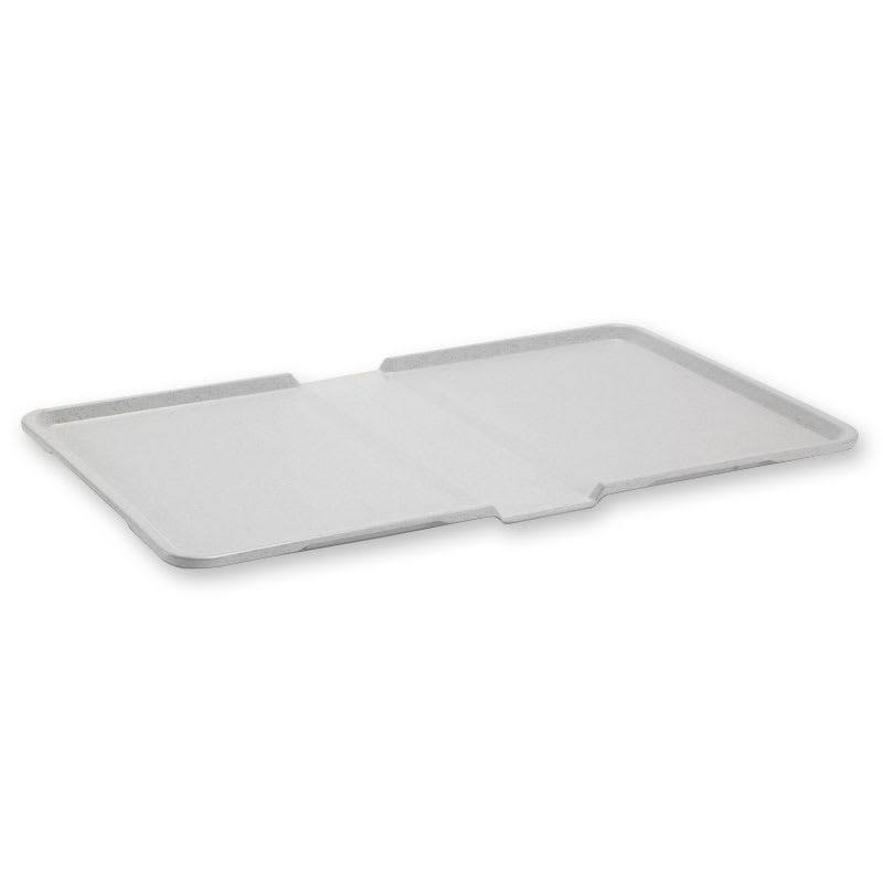 """Dinex DXSC1530152 Divided Thermal-Aire Patient Tray, 12 x 21"""", Gray"""