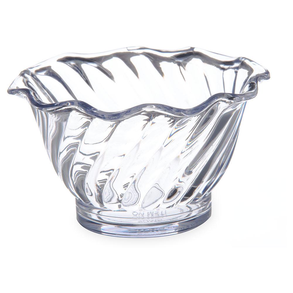 Dinex DXSWC507 5 oz. Swirl Tulip Cup, Clear