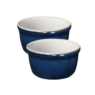 """Emile Henry 554020 3.5"""" Round Ceramic Ramekin Set w/ 7.6-oz Capacity, Twilight"""