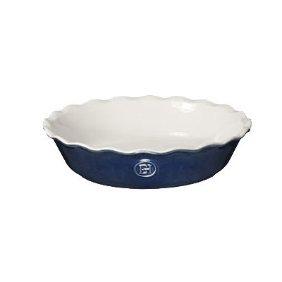 "Emile Henry 556121 9"" Round Pie Dish w/ 1.7 qt Capacity, Twilight"