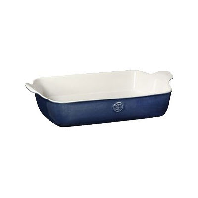 "Emile Henry 559626 4.7-qt Ceramic Baking Dish, 13x9"", Twilight"