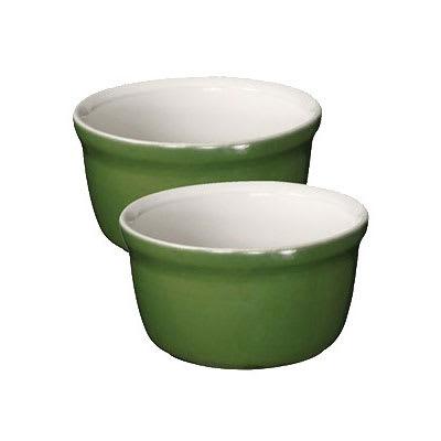 "Emile Henry 624020 3.5"" Round Ceramic Ramekin Set w/ 7.6-oz Capacity, Spring"