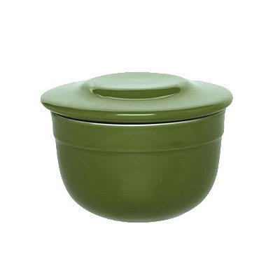 "Emile Henry 628621 4"" Round Ceramic Butter Pot w/ 7 oz Capacity, Spring"