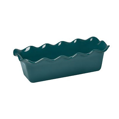 "Emile Henry 976387 2 qt Ceramic Loaf Pan, 12.5x6"", Blue Flame"