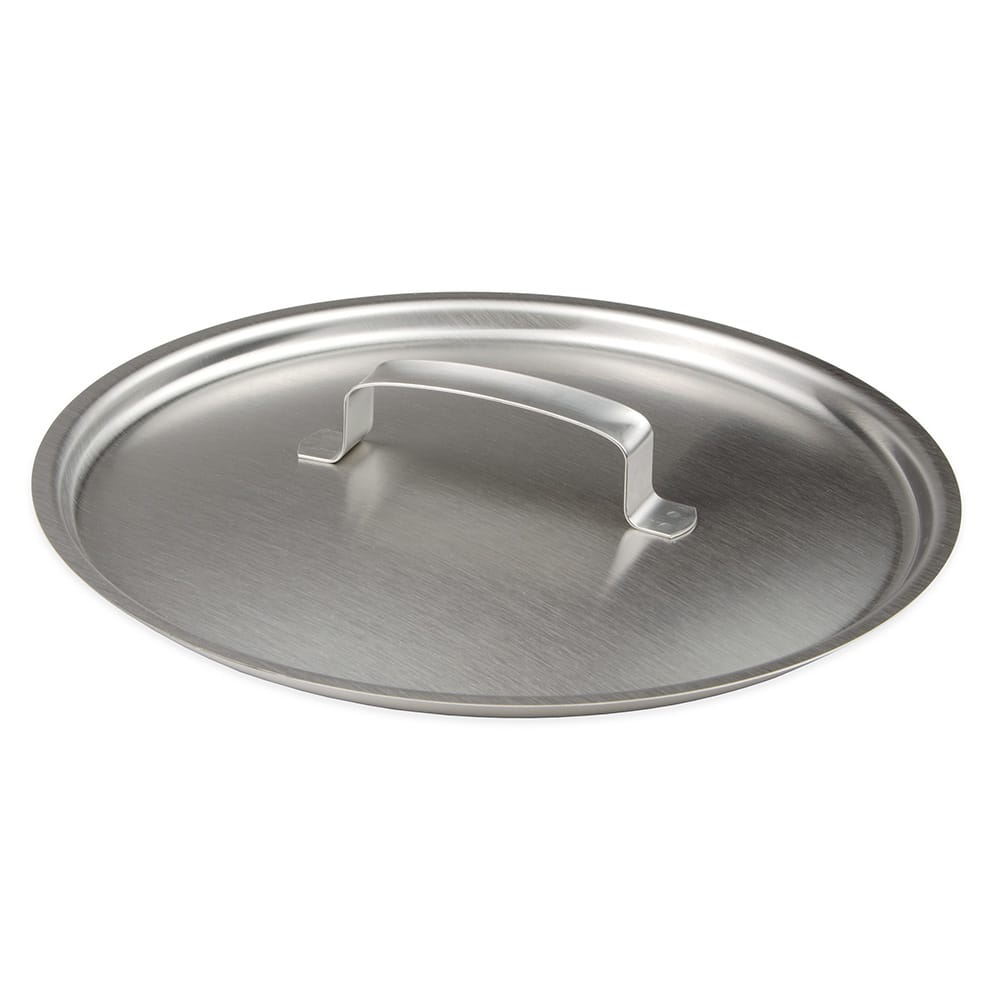 Vollrath 12N2 Stainless Steel Cover with Hook for 13 qt Utility Pail