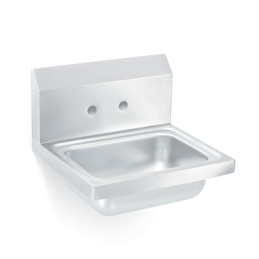 "Vollrath 141-0C Wall Mount Commercial Hand Sink w/ 17""L x 15""W x 5.5""D Bowl"