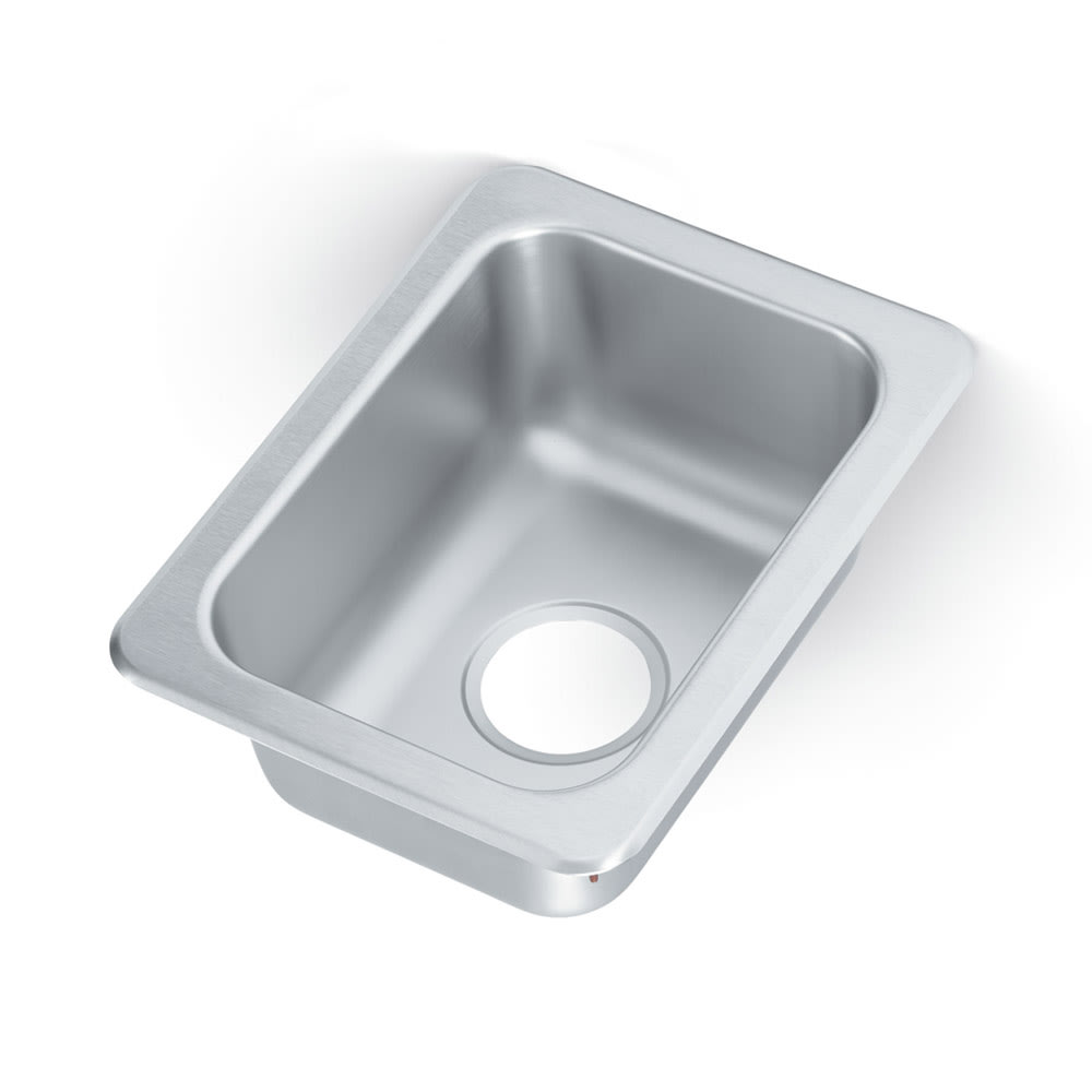 "Vollrath 1731 (1) Compartment Drop-in Sink - 10"" x 14"""