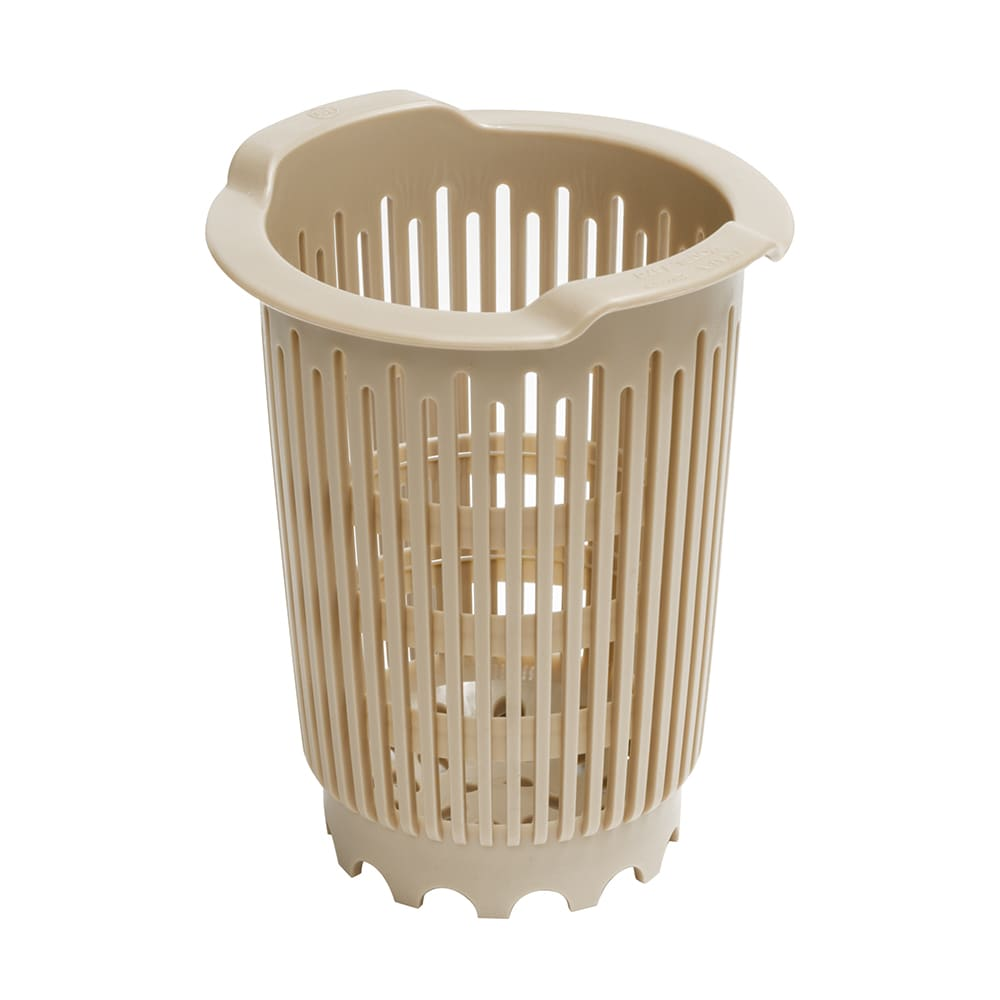 Vollrath 1370 Replacement Flatware Cylinder - Plastic, Beige