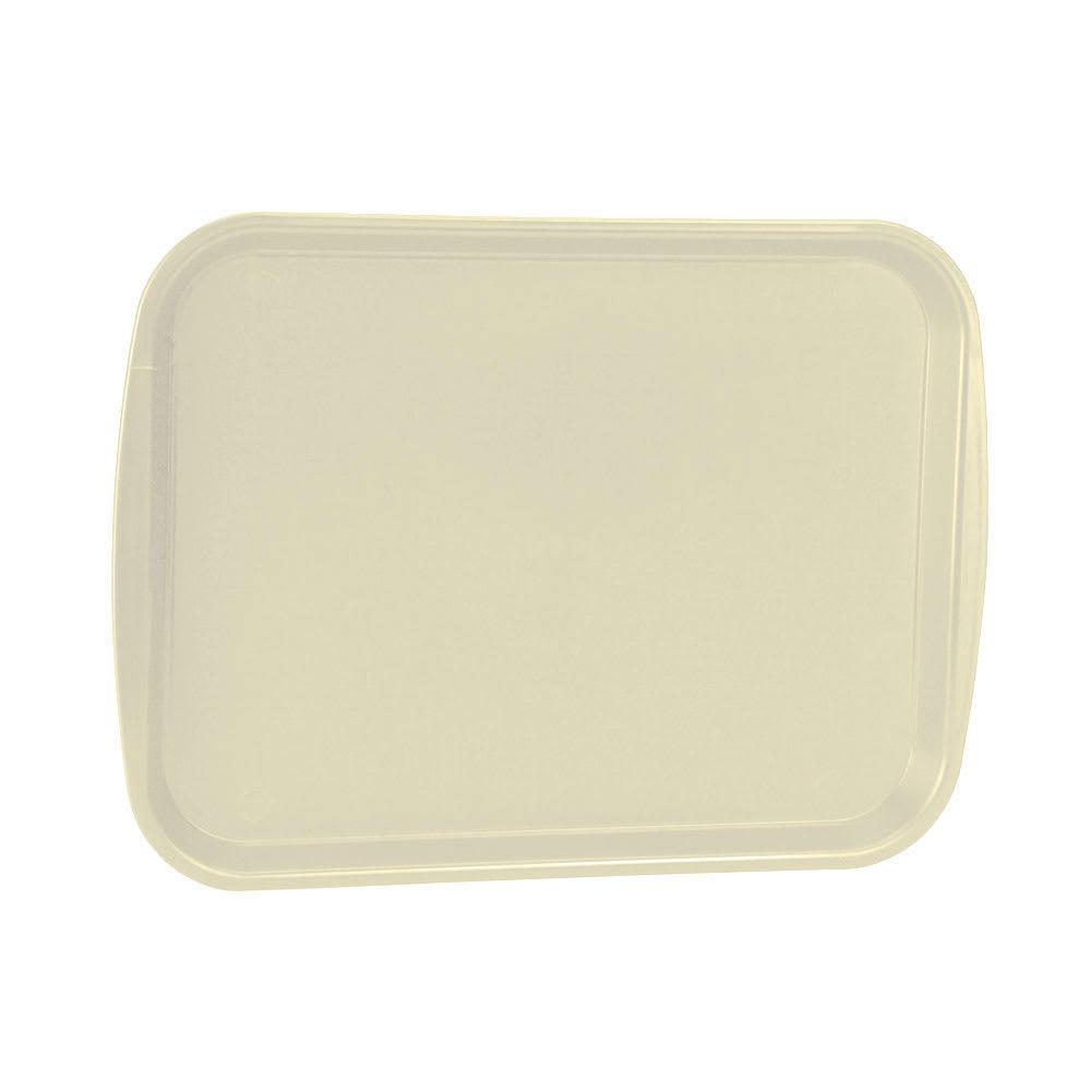 "Vollrath 1418-32 Rectangular Fast Food Tray -13 7/8 x 18 1/2"", Plastic, Beige"