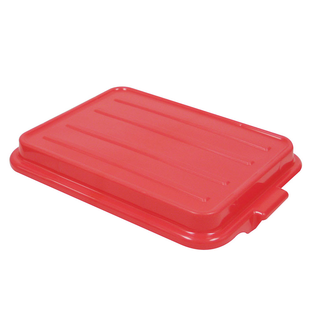 Vollrath 1500-C02 Snap-On Food Storage Box Cover, Dishwasher Safe, Red