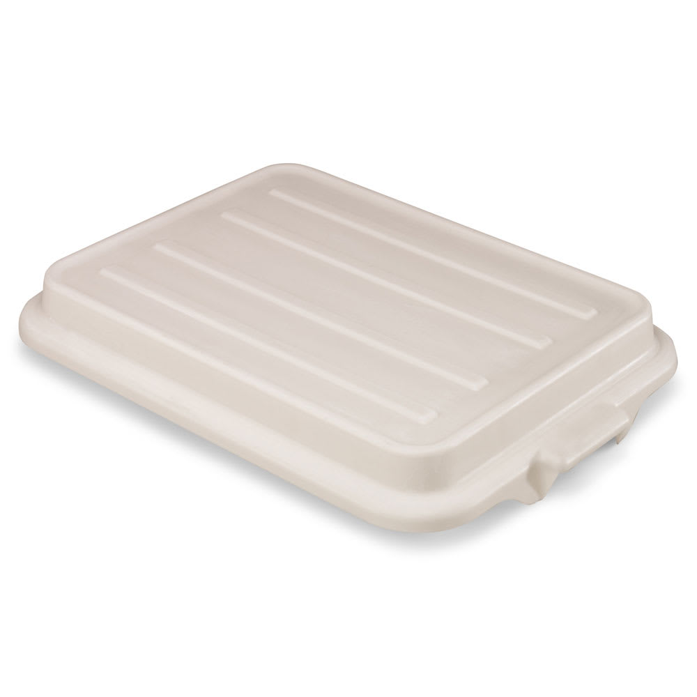 "Vollrath 1500-C05 Food Storage Box Cover - Snap-On, 22-1/8x15-5/8x2-1/2"", Poly, White"