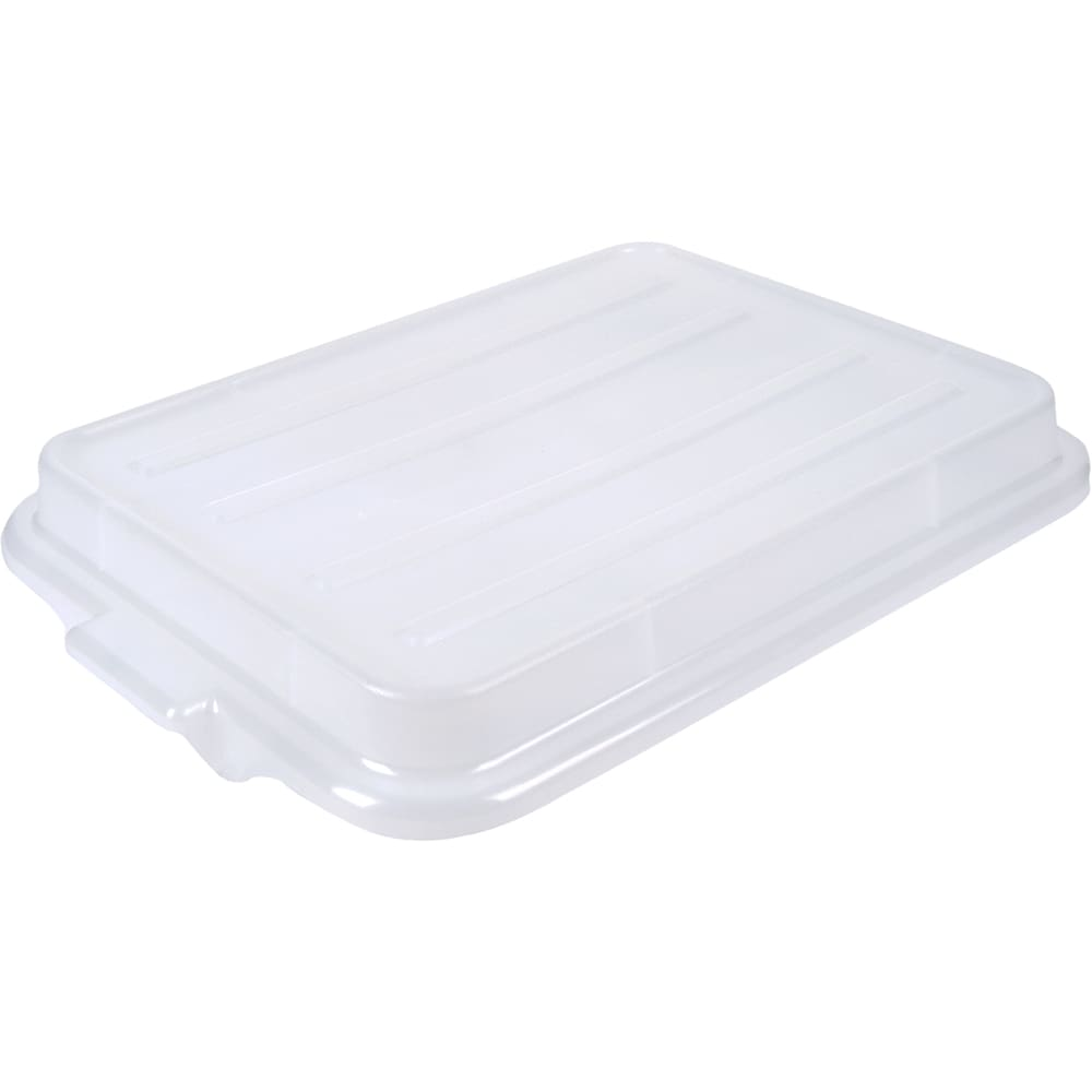 "Vollrath 1500-C13 Food Storage Box Cover - Snap-On, 22 1/8x15 5/8x2 1/2"", Poly, Clear"