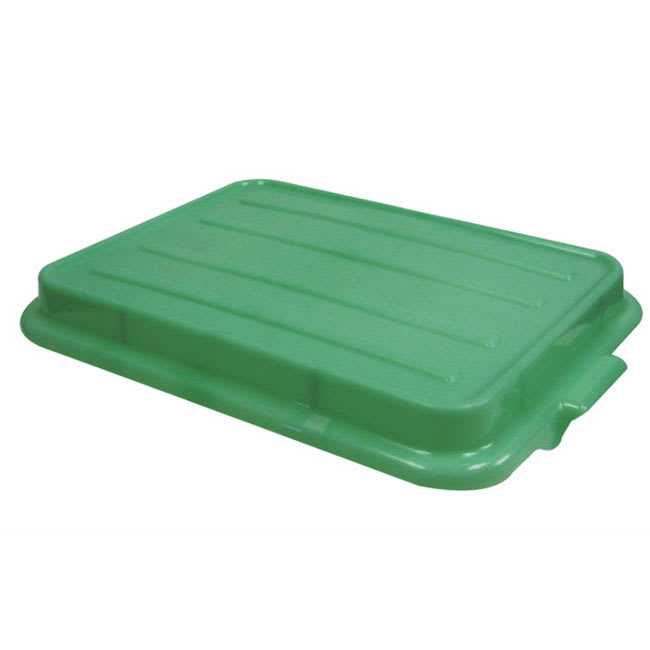 "Vollrath 1500-C19 Food Storage Box Cover - Snap-On, 22-1/8x15-5/8x2-1/2"", Poly, Green"