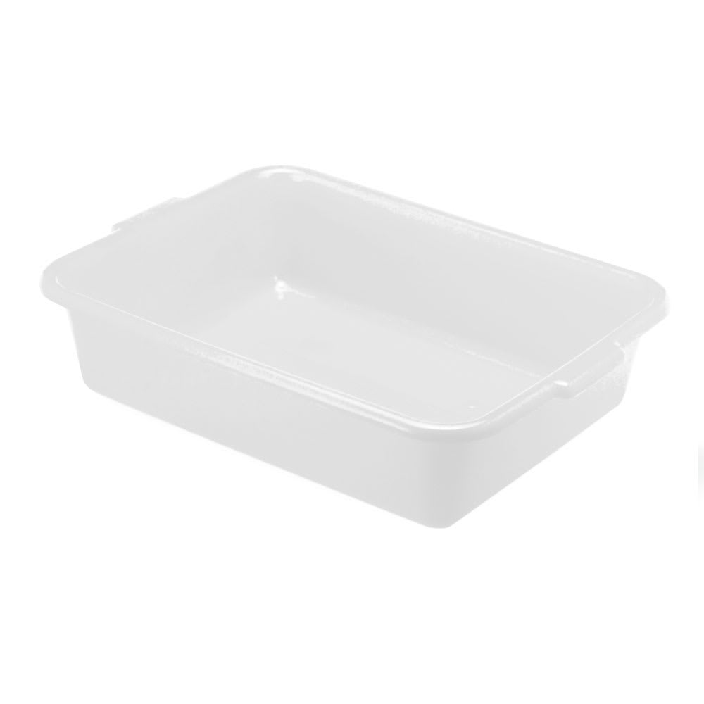 "Vollrath 1521-C13 Food Storage Box - 20"" x 15"" x 5"", Plastic, Clear"