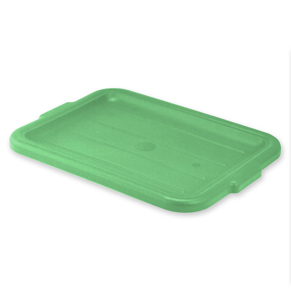 "Vollrath 1522-C19 Food Storage Box Cover - 15x20"", Plastic, Green"
