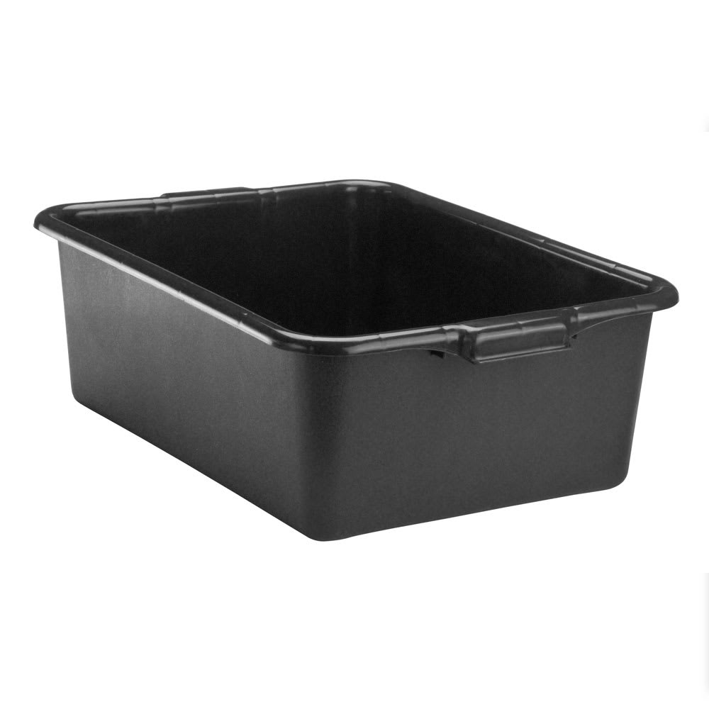 "Vollrath 1527B-06 Bus Box - 15x20x7"", Plastic, Black"