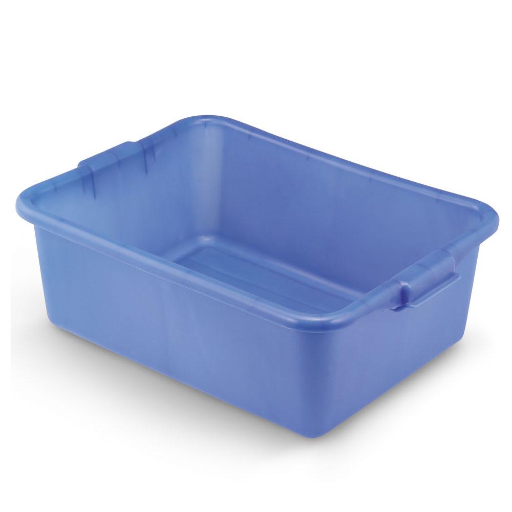 "Vollrath 1527-C04 Food Storage Box - Molded Handles, 20x15x7"", Blue"