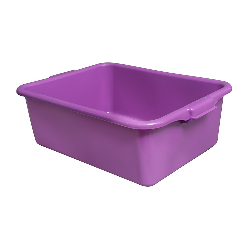"Vollrath 1527-C80  Food Storage Box - 20"" x 15"" x 7"", Polypropylene, Purple"