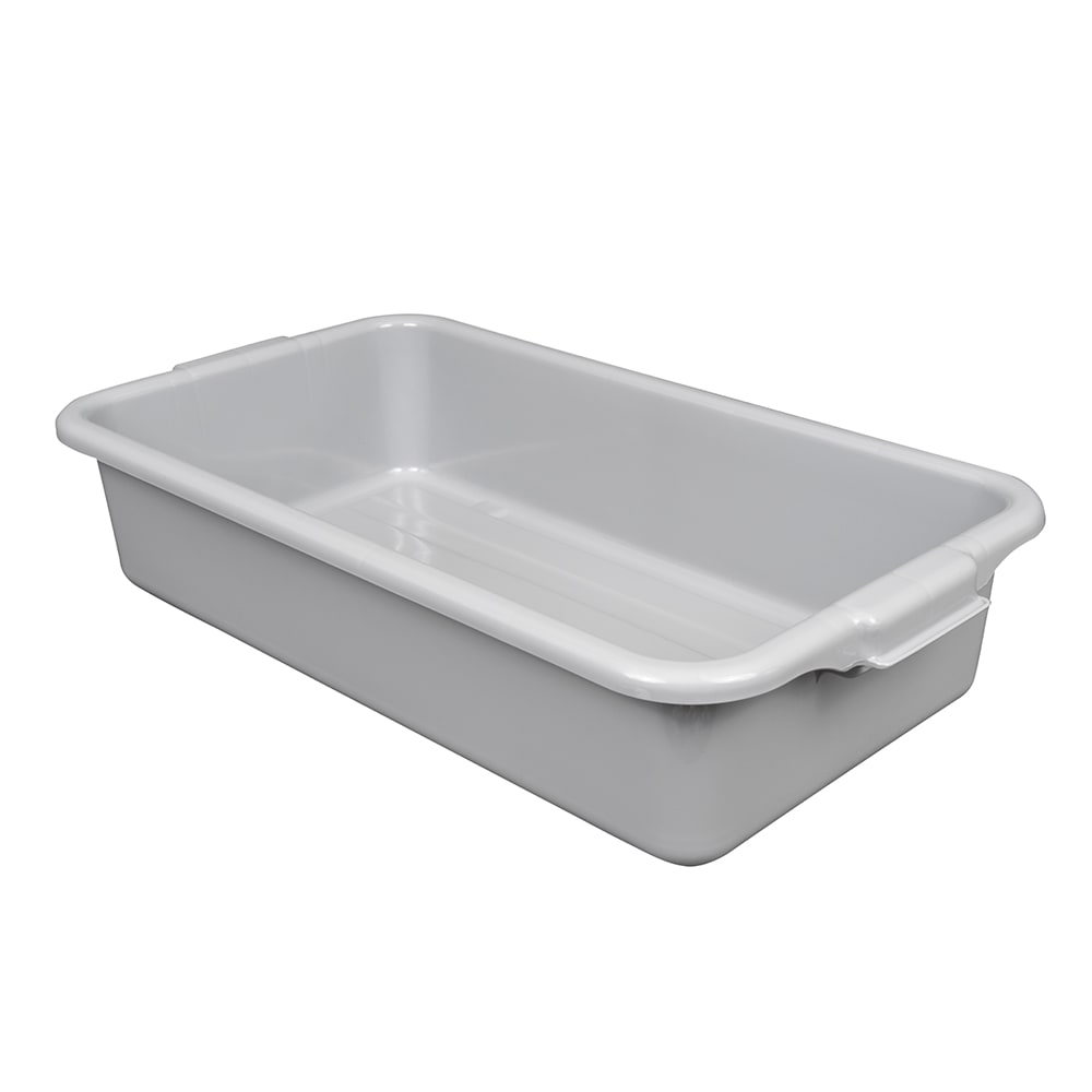 "Vollrath 1529-31 Bus Box - 23 1/2x12x5 3/8"", Plastic, Gray"