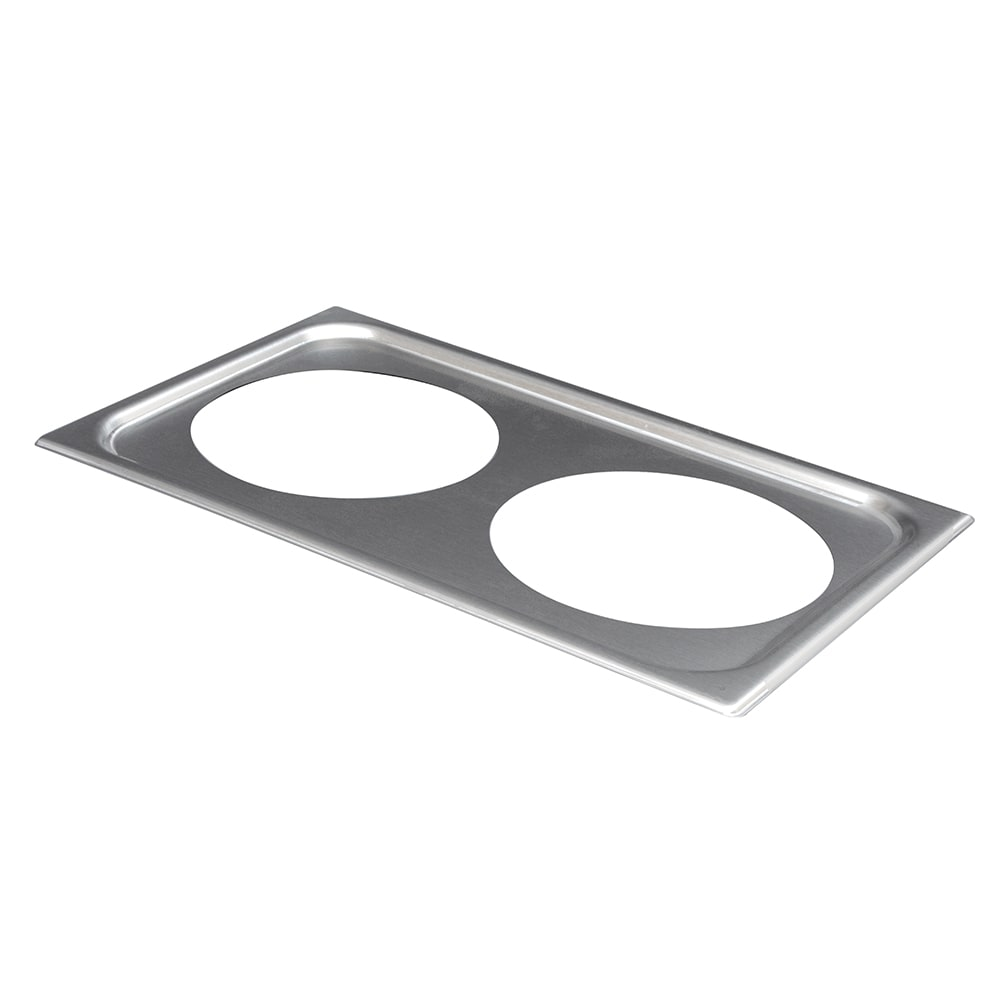 "Vollrath 19192 Adaptor Plate - (2) 8 3/8"" Inset Holes"