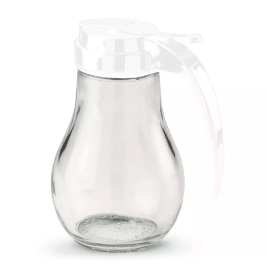 Vollrath 214J Dripcut Syrup Server, Glass Jar Only, 14-oz, for 214 & 614 Server