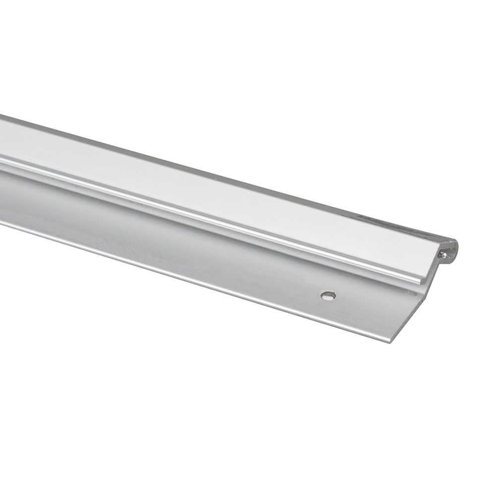 "Vollrath 2436 36"" Check Holder Bar - Brushed Aluminum"