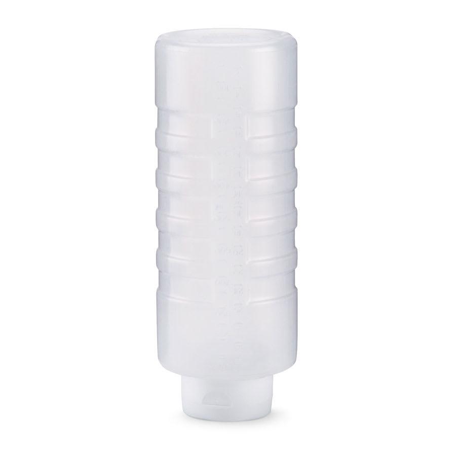 Vollrath 26320-13 32-oz Squeeze Dispenser - White Cap, Clear