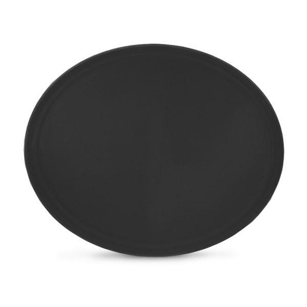 Vollrath 2700L-06 Oval Serving Tray - Fiberglass, Black