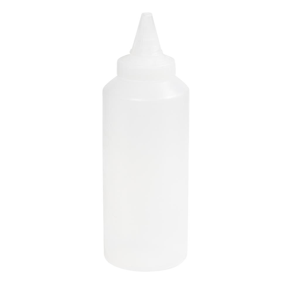 Vollrath 2912-13 Squeeze Bottle Dispenser - Closeable Cap, Clear