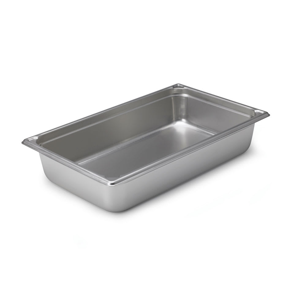 Vollrath 30065 Super Pan Full-Size Steam Pan Transport, Stainless