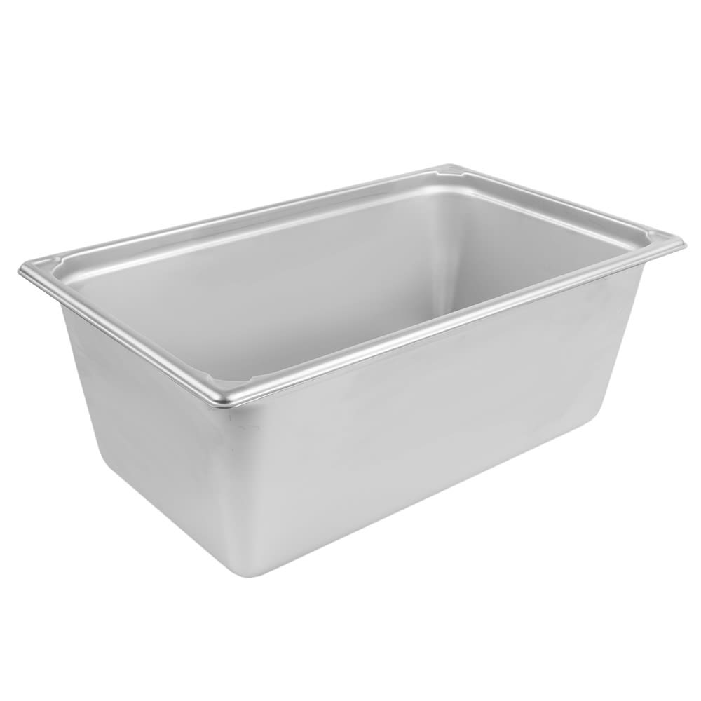 Vollrath 30088 Super Pan Full-Size Steam Pan Transport, Stainless