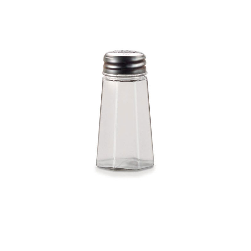 "Vollrath 302-0 3.5"" Salt/Pepper Shaker w/ Metal Lid, Paneled"