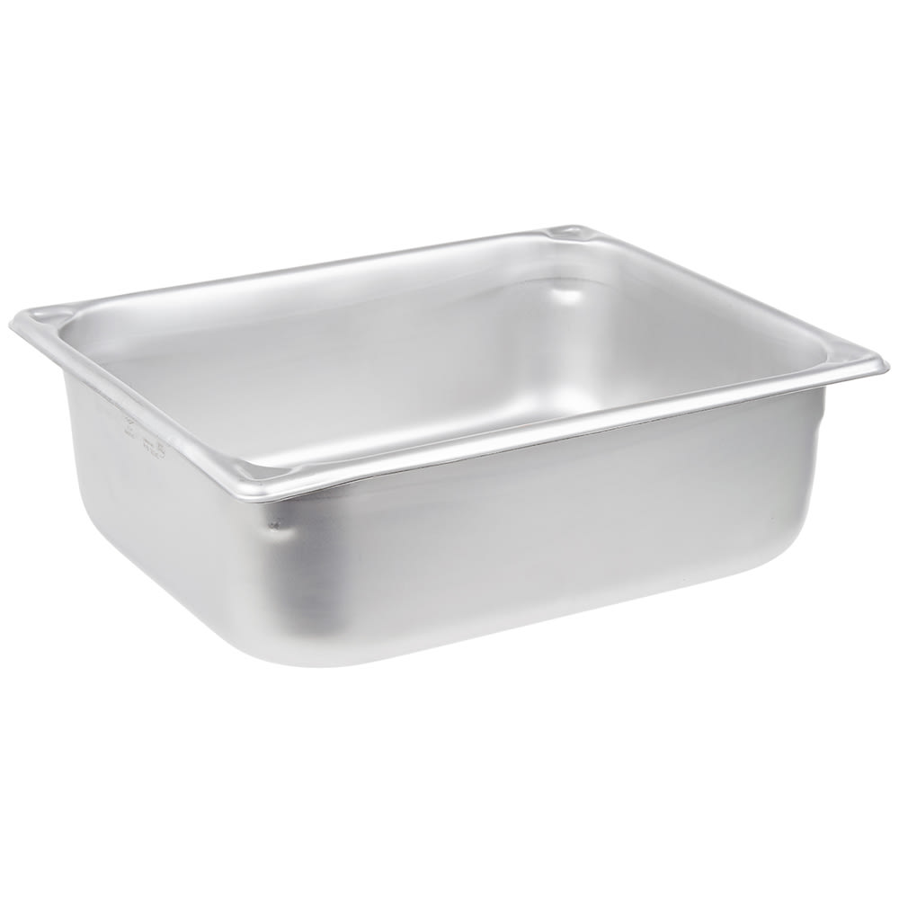 Vollrath 30240 Super Pan Half-Size Steam Pan, Stainless