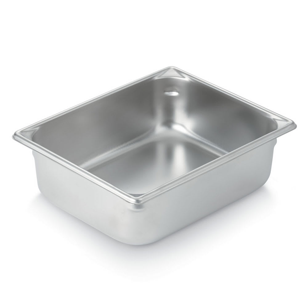 Vollrath 30265 Super Pan Half-Size Steam Pan, Stainless