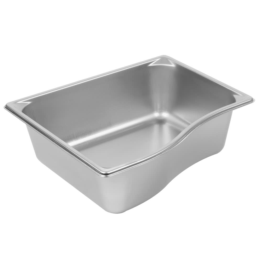 Vollrath 3100240 Super Pan Shapes Full-Size Short Steam Pan - Wild, Stainless