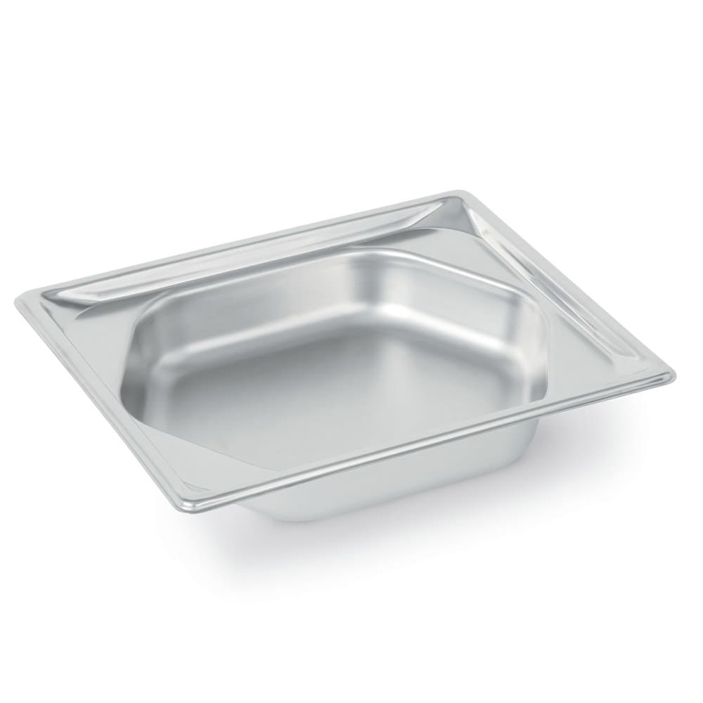 Vollrath 3102220 Super Pan Shapes Half-Size Steam Pan - Hexagon, Stainless