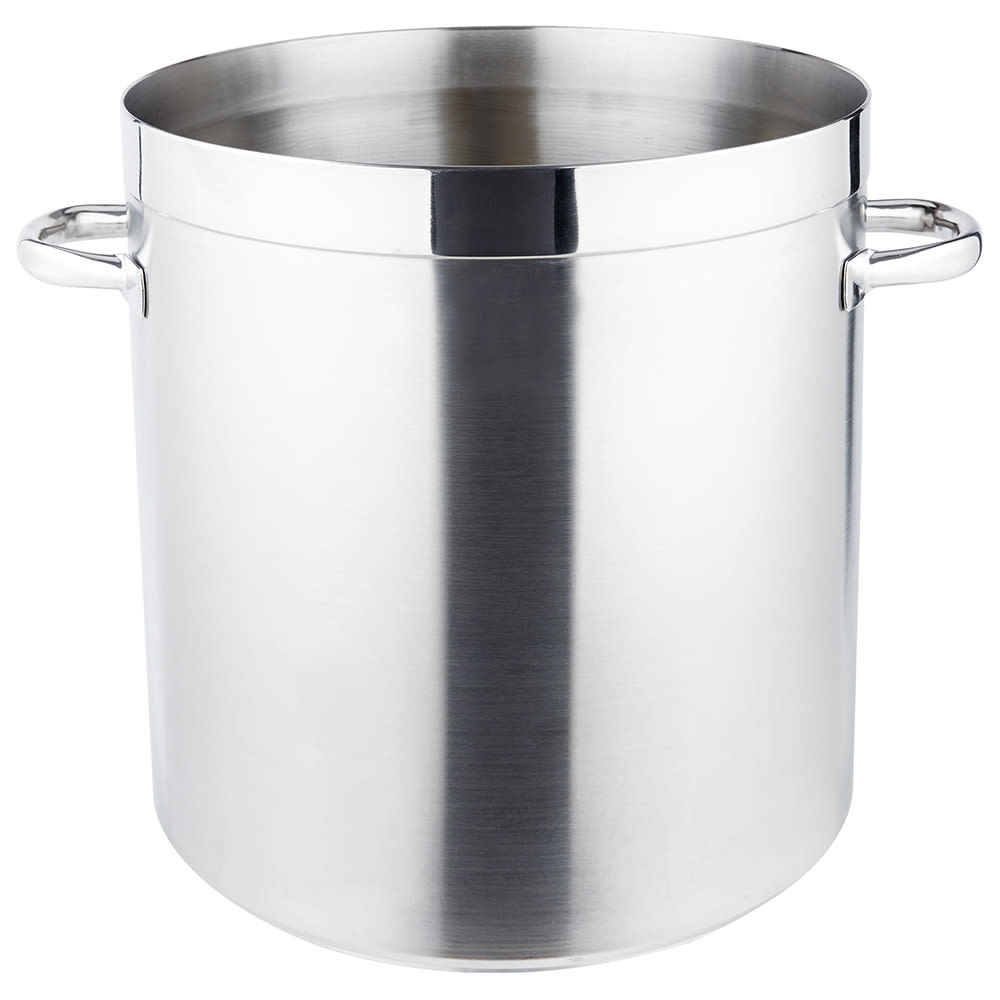 Vollrath 3113 53 qt Stainless Steel Stock Pot - Induction Ready