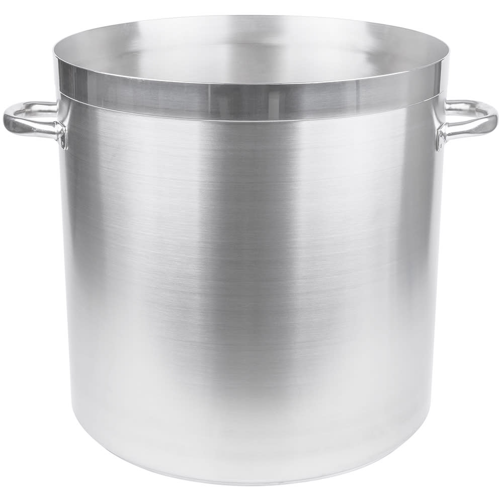 Vollrath 3118 74 qt Stainless Steel Stock Pot - Induction Ready