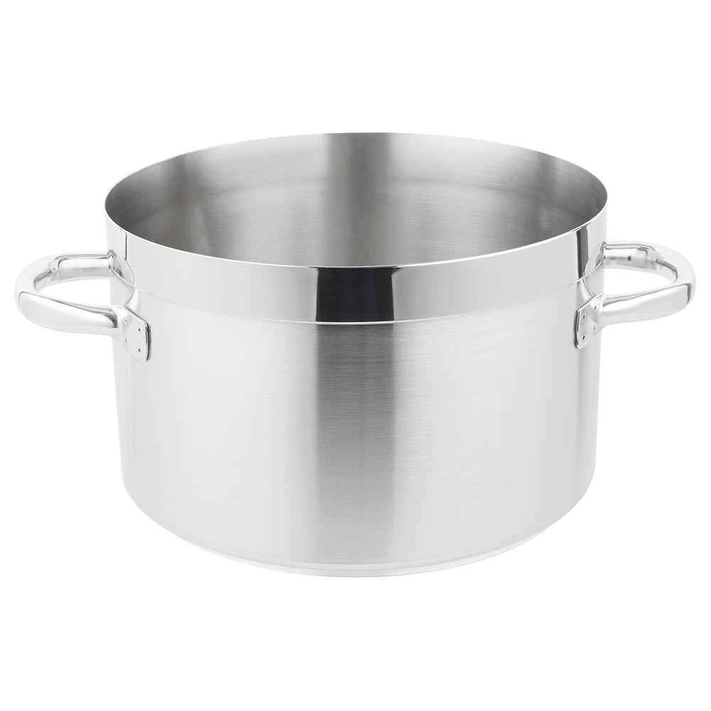 Vollrath 3204 16.75 qt Saucepan - Induction Compatible, 18/10 Stainless