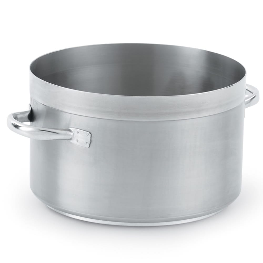 "Vollrath 3206 23 qt Stainless Sauce Pot - 14"" x 8.5"""
