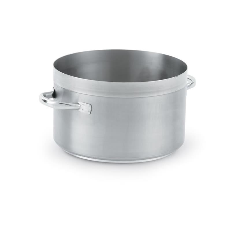 "Vollrath 3212 46.75 qt Stainless Sauce Pot - 17.75"" x 10.75"""